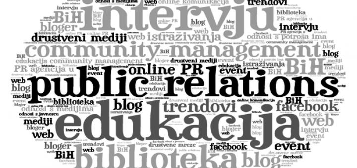 Istraživanje o stanju profesije odnosa s javnošću u BiH